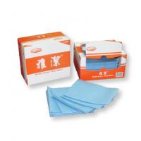 雅潔-強韌型盒裝擦拭布(藍)