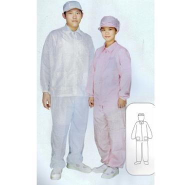 AG201(夾克領),AG202(立領), AG201-1(無塵褲)